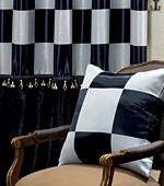 宽遮光窗帘不)国际象棋(黑)