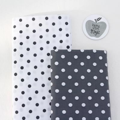 棉混纺)圆点(2种)