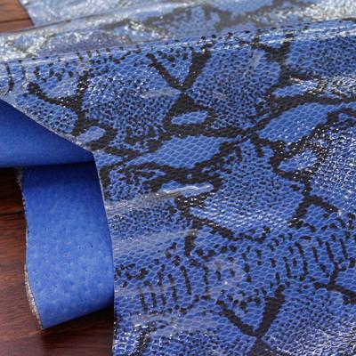 [章单位销售]优良的天然donpi)蛇(蓝色)