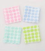 显著 - 双层纱布)糖果点(4种)