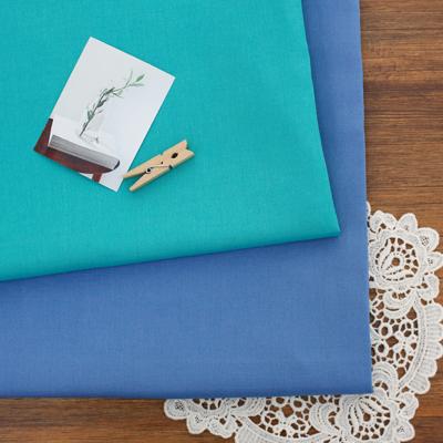 亚麻混纺)蓝色薄荷(2种)