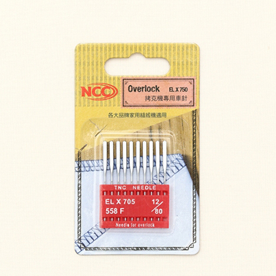 NCC家用缝纫机针(对于缝机)-2种
