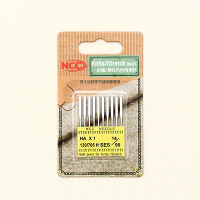 NCC家用缝纫机针(针织品) -  4种