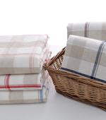 亚麻色织)天然大5种检查洗涤