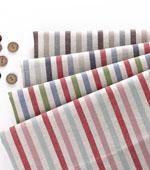 亚麻色织)色织条纹4种国家