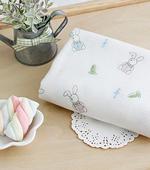 尿布剪纸)胡萝卜兔(白色)
