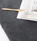 显著 -  17随停,如果纺织品印花)3毫米灰色