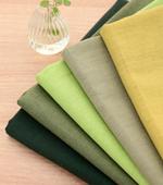 11可以显著亚麻)复古洗床单 - 绿五种;