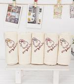 有机绣花手帕)容易五种棉