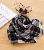 显著 - 双层纱布)纱布双面检查(2种)