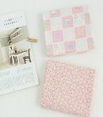 显著 - 双层纱布)粉红色(2种)