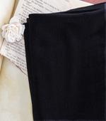 显著 - 毛绒)棉绒黑