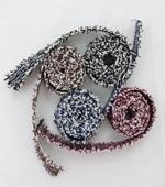 蕾丝装饰)双面双色羊毛(4种)