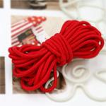 串橡皮筋3麻8种红色