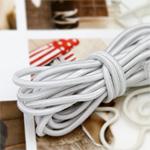 串橡皮筋3麻8种白色