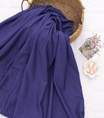 显著 - 不是片面垫)湿润光滑压纹纸垫(蓝紫色)