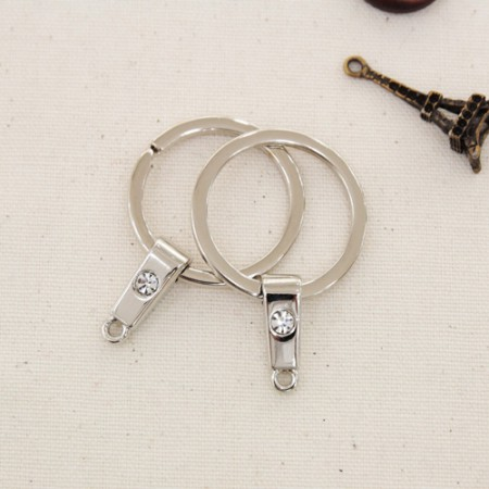 2EA)O型圈钥匙圈25毫米立方