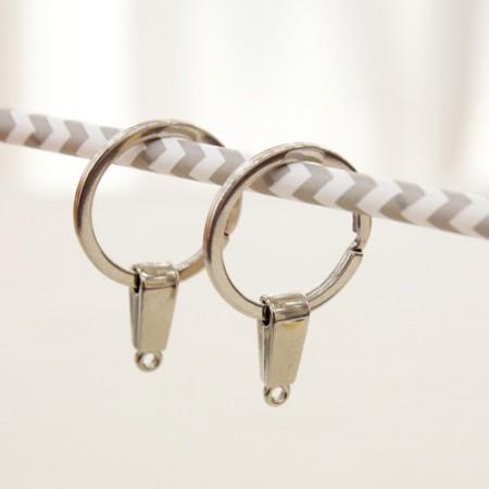 2EA)O型圈钥匙圈25毫米