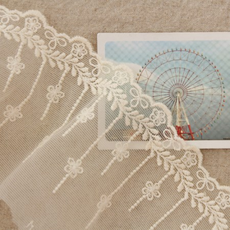[LA040〜041]网布花边)桂冠木槿花(2种)