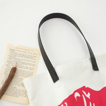 布袋挂绳50厘米)简单处理皮革-M(2种)