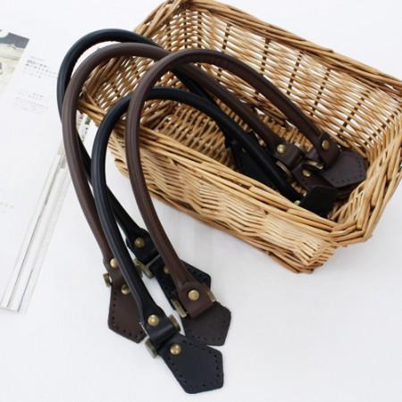 布袋挂绳50厘米)高档皮革肩拉手-A(2种)