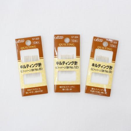 三叶草绗缝针晶(3种类型)