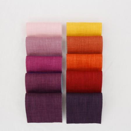 帘纸)全彩色固体(10种)