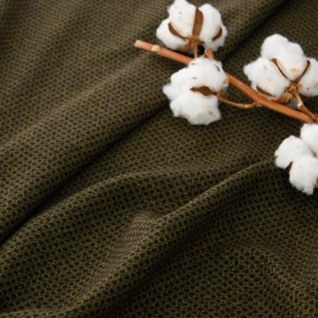 显著 - 羊毛混纺)卡其棕色