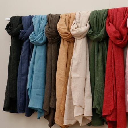 显著 - 羊毛)柔软的围巾(10种)
