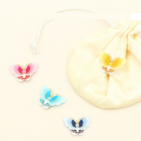 2EA)金沙绣蝴蝶(5种)