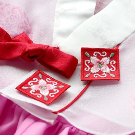 2EA)4韩服可以装点自己的(红色)