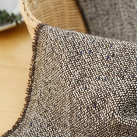 显著 - 家用纺面料)柔丝(咖啡色)