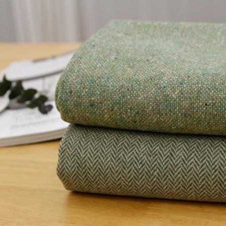 显著 - 羊毛混纺面料),绿茶(2种)