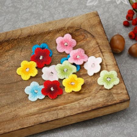 2EA)韩服用于三维刺绣)angaekkot(7种)