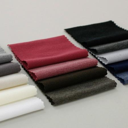 显著 - 面料长裤)独特的固体(14种)