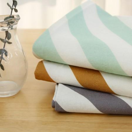 -DTP20可以大大洗亚麻织物)斜线条纹(3种)