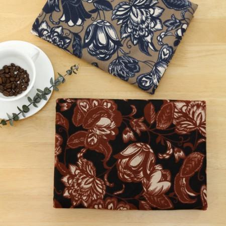 显著 - 拉绒棉织物)尺寸实体(2种)
