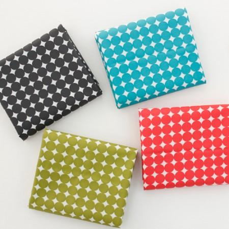 棉混纺织物层压材料)圆点(4种)