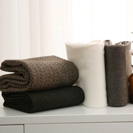 显著 - 羊毛混纺)单布朗(4种)