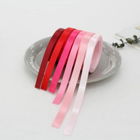 5麻)10毫米缎子胶带_粉色版本(6种)