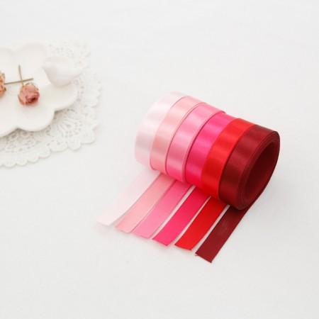 5麻)15毫米缎子胶带_粉色版本(6种)