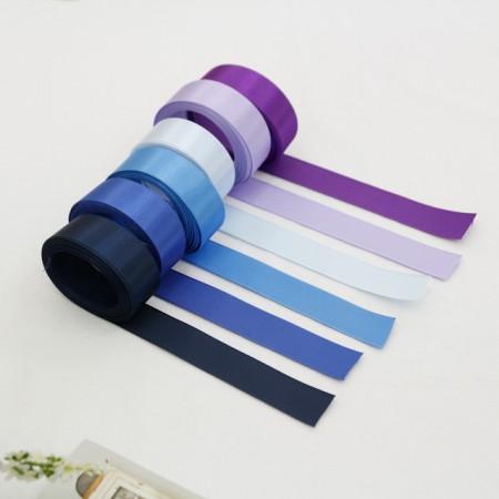 [5麻]缎带)25毫米蓝色版本(6种)