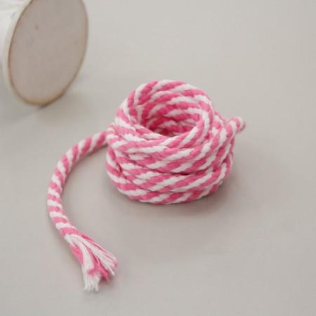 2麻)对角线轮串myeonkkeun(粉色)