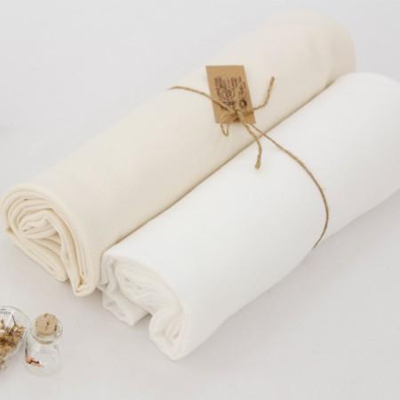 显著 - 有机双层纱布面料)天然棉(2种)