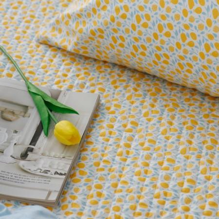 20可被绗缝的织物)蜂蜜柠檬