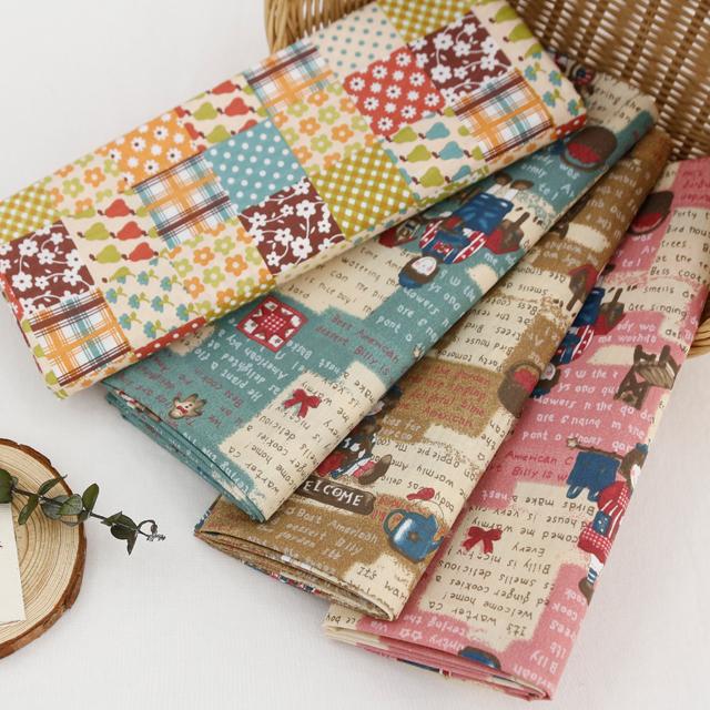 棉混纺织物)乡间别墅(4种)