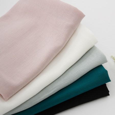 显著洗涤人造丝织物)普通罗拉(5种)