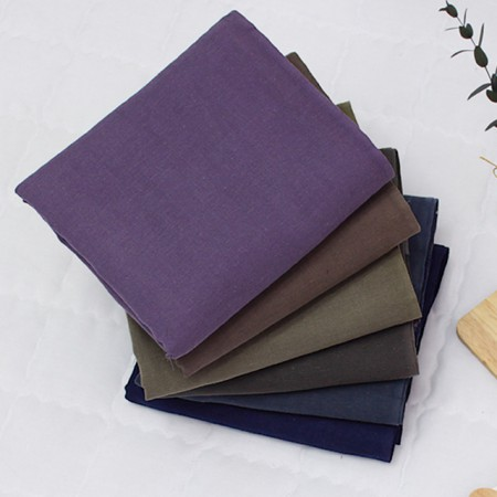 双层纱布织物)天然棉(6种)