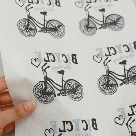 纸转印纸)自行车