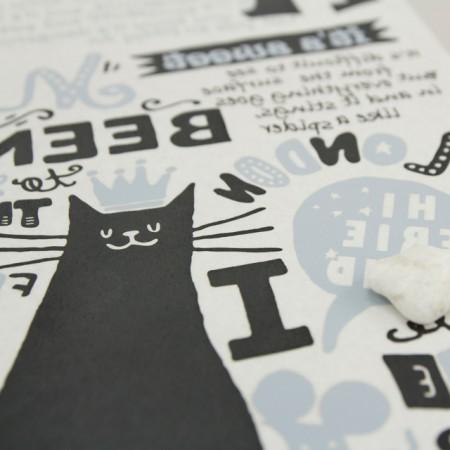 纸转印纸)猫土地